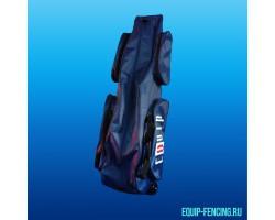 Фехтовальный чехол малый с 1м отделением c тележкой, 4 внешних кармана, Equip