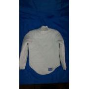 Фехтовальная куртка универсальная (усиленная, застежка на спине) 350 Nw  коттон, Equip