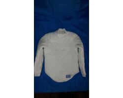 Фехтовальная куртка универсальная (усиленная, застежка на спине) 350 Nw х/б, Equip