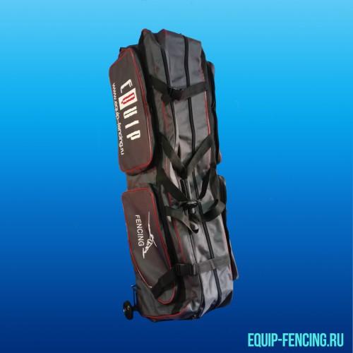 Фехтовальный чехол с 2мя отделениями c тележкой, Equip