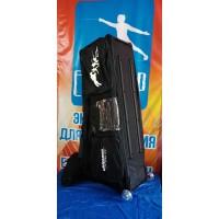"""Чехол """"Pentatlon"""" с двумя отделениями с тележкой (с верхним карманом в комплекте с чехлом для пистолета) Uhlmann"""