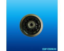 Колесо для чехла в комплекте с подшипниками большое (100мм)