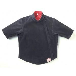 Кожаный жилет с двумя короткими рукавами, Allstar