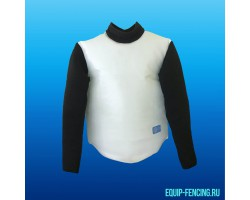 Кожаный жилет с длинными рукавами, EQUiP