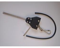 Разъем - тройник с креплениями для шнура катушки, запасной, Favero