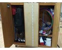 Шкаф для фехтовального инвентаря