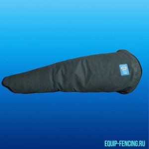 Шпажный рукав кожаный с защитой плеча, усиленный, натуральная кожа. EQUiP